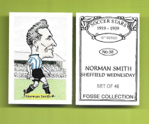 Sheffield Wednesday Norman Smith 38 (FC)